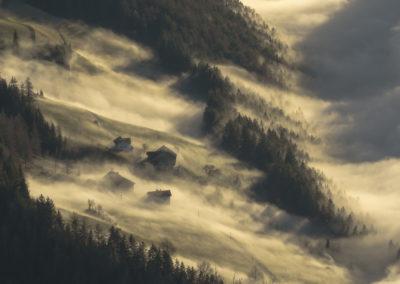 fog - wafe - südtirol - tyrol - a wave of fog