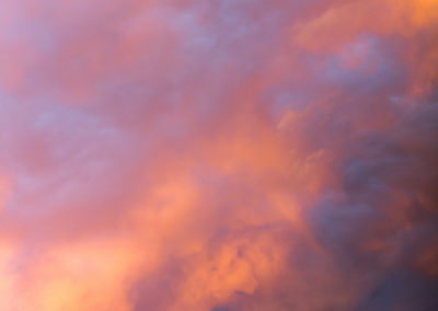Oil colours, südtirol, clouds