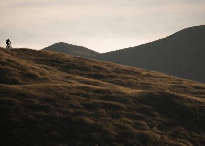 sexten - sillianer hütte - helmhaus - mountainbiking - lonely biker