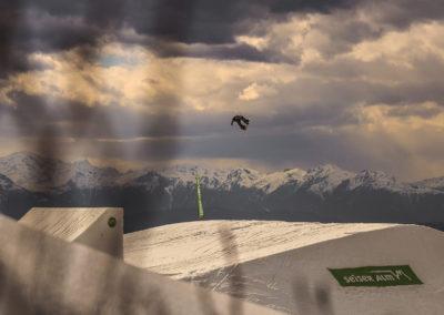 seiser alm - simon gruber - snowboard - jump