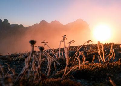 frozen sun heat / Lagazuoi (IT) / Daniel Tschurtschenthaler