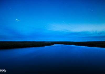 night - stars - denmark - longexposure - startrail - lake