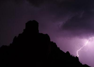 Lightning / Dolomites (IT) / Daniel Tschurtschenthaler