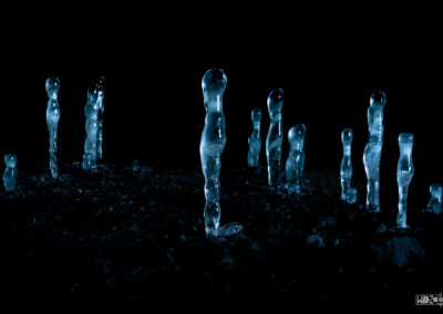 Ice sculptures / Daniel Tschurtschenthaler