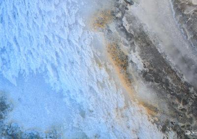 Pollen on ice / Daniel Tschurtschenthaler