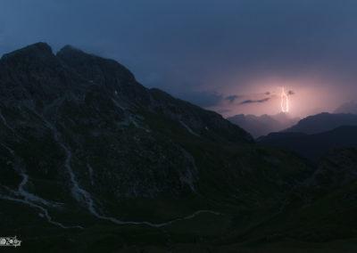 Lightning - Thunder - Thunderstorm - Naturephotography - Dolomites