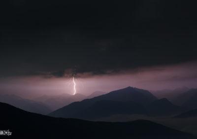 Lightning - Thunder - Thunderstorm - Naturephotography - Alps