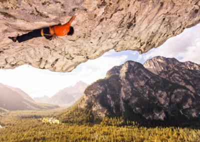 climbing - overhang - höhlensteintal