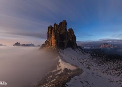 fog - stars - startrail - nightsky - naturephoto - mountains - dolomites