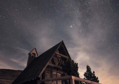 Lonely mountain hut / Passo giau (ITA) / Lukas Schäfer