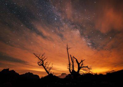 nightsky - stars - milkyway - dolomites - dolomiten - south tyrol