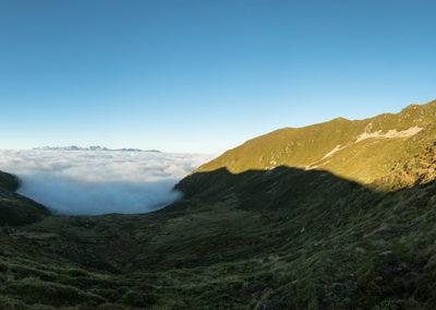 Above the fog / Grünbachsee (IT) / Daniel Tschurtschenthaler