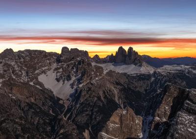 Three Peaks of Lavaredo  / Dolomites (IT) / Daniel Tschurtschenthaler