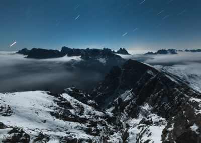 Autumn night / Dolomites (IT) / Lukas Schäfer