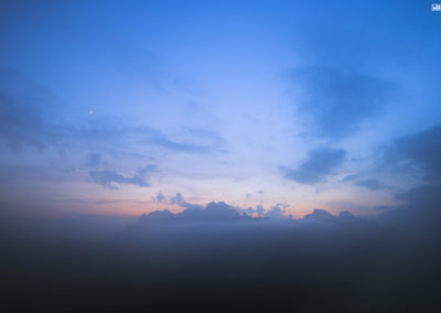 moonset - sunset - fog - magic - mountais - belluno