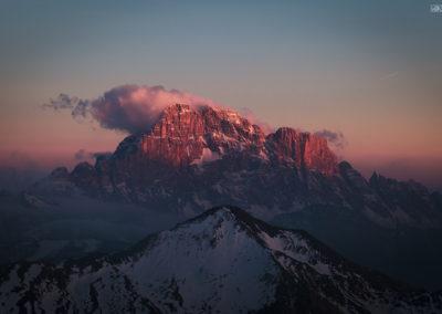 Civetta on sunset / Falzarego (ITA) / Lukas Schäfer
