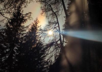 Moon - Night - Naturephotography - Spectacle of nature - Waterfall - Water - Magic