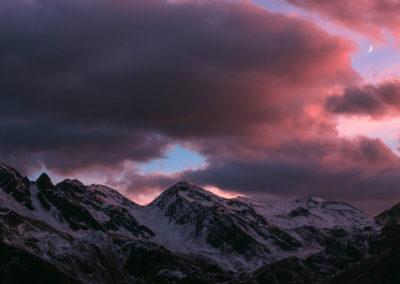 alpen - alps - berge - mountains - landscape - nature - sunset - innervillgraten