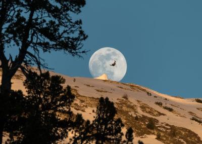 INTO THE MOON (bonus shot) / Dolomites (IT) / Daniel Tschurtschnethaler