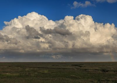 A big and scary cloud raising over babylon / Skallingen (DEN) / Lukas Schäfer