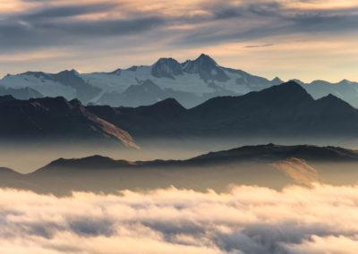 The Großglockner at sunrise / Alps (IT) / Lukas Schäfer