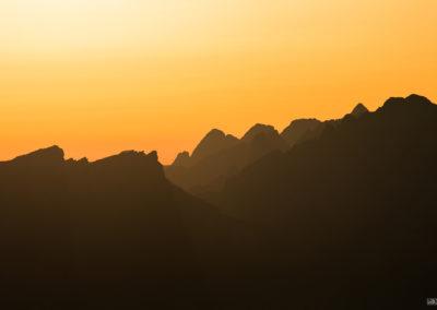 Orange light / Dolomites / Daniel Tschurtschenthaler