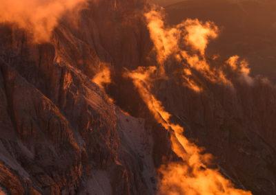 First sunlight / Dolomites (IT) / Daniel Tschurtschenthaler