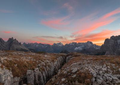 Magic sunset / Misurina (IT) / Daniel Tschurtschenthaler