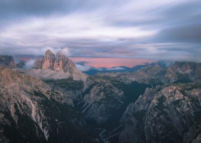 Tree peaks / Dolomites (IT) / Daniel Tschurtschenthaler